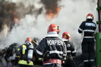 Incendiu puternic la o fabrică din Sălaj. Peste 200 de angajați au fost evacuați