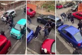 Scene violente în Timișoara. Bătaie cu bâte și scaune între fanii dinamoviști și cei timișoreni