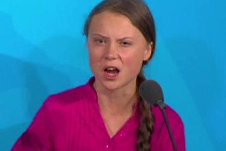 Replica Gretei Thunberg după ce Vladimir Putin a criticat-o