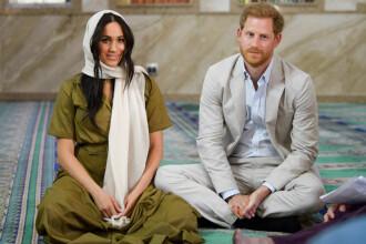 """Reuniune de urgență a familiei regale britanice, după """"retragerea"""" lui Harry și Meghan"""