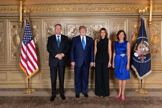 Klaus Iohannis a postat pe Facebook o fotografie în care apare cu Donald Trump
