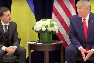 Președintele Zelenski dezminte că Trump ar fi exercitat presiuni asupra sa