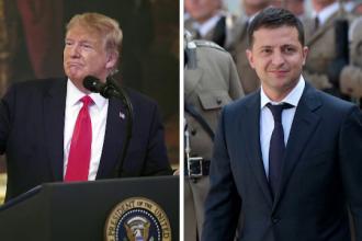 Un agent ar fi declanșat scandalul convorbirii telefonice dintre Trump și Zelenski