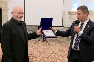 Victor Rebengiuc, premiat de fundația Hope and Homes for Children