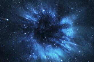 Fenomen astronomic inedit. Trei găuri negre, în curs de coliziune