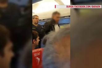 Pasagerul violent care a lovit în avion o stewardesă Blue Air a fost trecut pe lista neagră