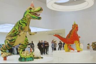 Creaţii impresionante din piese lego, expuse timp de un an la Copenhaga