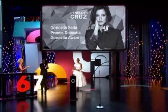 Penelope Cruz, omagiată pentru întreaga carieră. Actrița provine dintr-o familie modestă