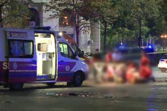 Împușcături și bătaie cu bâte în Piața Constituției. O persoană a murit