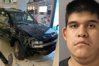 Un tânăr care a intrat cu mașina într-un mall din SUA, acuzat de terorism