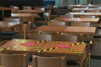Județul în care 16 localități închid restaurantele, după ce a crescut numărul de cazuri de COVID-19