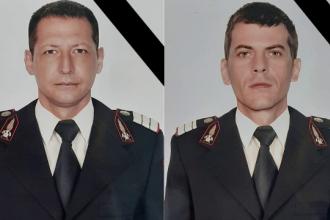 Doi pompieri din Mehedinți au murit într-un accident înfiorător. Mașina lor a intrat sub un TIR