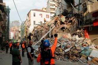 Liban: Un posibil supravieţuitor sub dărâmături, la o lună de la explozie