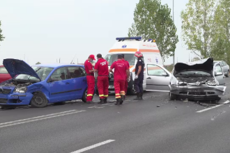 Manevra unui șofer de 73 de ani care a băgat doi oameni în spital. Ce s-a întâmplat