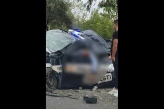 Polițist rănit grav într-un accident de circulație. Ce greșeală a făcut