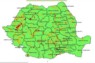 Cum începe școala. HARTA incidenței cazurilor de COVID-19 pentru fiecare localitate din România