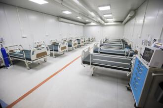 Ministerul Sănătății anunță 112 paturi noi ATI pentru pacienții cu Covid-19 din București