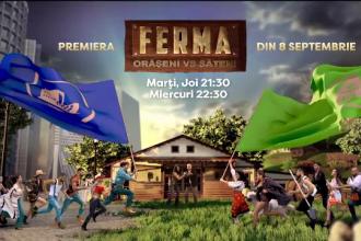"""Un nou sezon """"Ferma"""" începe marți seară la Pro TV. Care sunt vedetele care se luptă pentru marele premiu"""