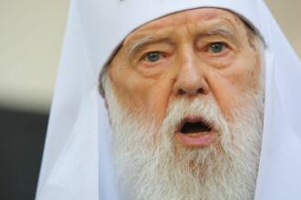 Patriarhul Ucrainei are Covid-19, după ce a spus că boala este pedeapsă pentru homosexuali