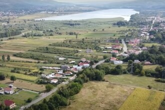Imagini filmate cu drona cu viitoarea autostradă Sibiu-Pitești. Proiectarea și execuția lotului 4 nu a fost încă atribuită