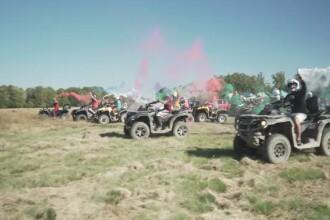 Iubitorii de adrenalină și-au dat întâlnire în Argeș, la prima cursa de ATV-uri din acest an