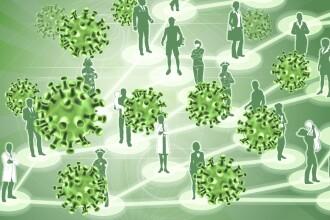 Raport: Coronavirusul poate rămâne în aer timp de mai multe ore