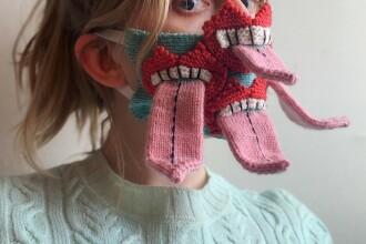 Măști de protecție 3D confecționate de un artist din Islanda