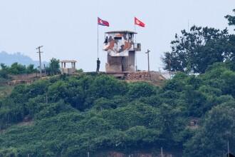 Un oficial sud-coreean a fost împușcat și apoi incinerat de trupele din Coreea de Nord