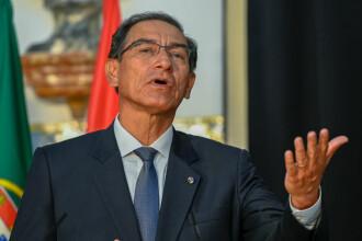 Președintele din Peru ar putea fi destituit din cauza unui cântăreț. Ce a decis Parlamentul