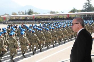 Erdogan participă în Azerbaidjan la ceremonii de celebrare a victoriei din Nagorno-Karabah