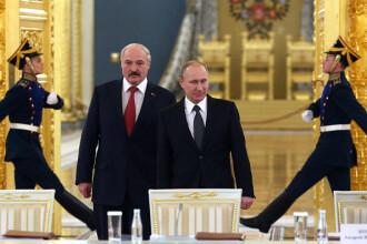 Lukașenko se întâlnește cu Putin, în timp ce protestele masive continuă în Belarus