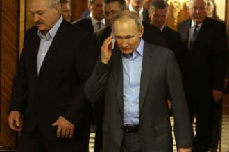 Rusia va retrage trupele de rezervă de la frontiera cu Belarus, anunță Kremlinul