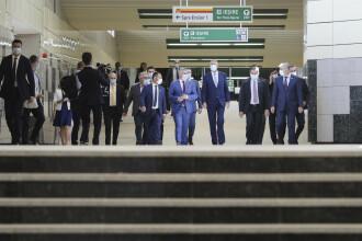 Metroul Drumul Taberei, inaugurat de Iohannis și Orban. Magistrala M5, finalizată după 9 ani