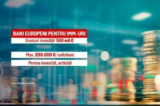 Bani europeni sub formă de ajutoare. Ce sume pot primi firmele mici, dar și asociațiile