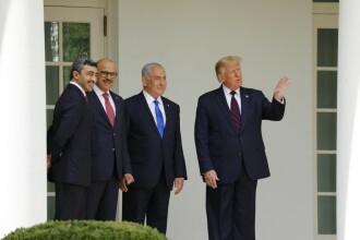 Israel, EAU şi Bahrein au semnat la Casa Albă acorduri istorice de normalizare a relaţiilor