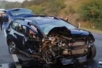 Impact devastator în Cluj: un mort și 4 răniți după o depășire periculoasă