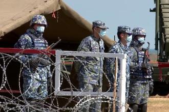 """Primul sistem de rachete sol-aer """"Patriot"""", recepţionat joi de Armata Română"""