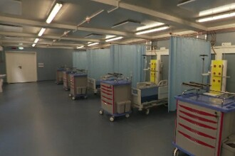 Secția ATI a unui spital din Capitală a fost închisă. Mai multe cadre medicale, în izolare