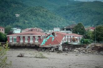 Dezastrul lăsat în urmă de furtuna Ianos în Grecia. Două persoane au murit și alta e dispărută