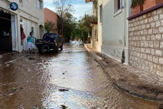 Insula Kefalonia, devastată de uraganul Ianos. Localnicii au rămas 2 zile fără apă și curent