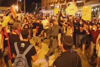 Proteste masive în Israel, după ce Guvernul a impus carantină la nivel național