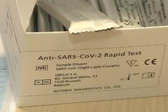 Ce preț are testul rapid pentru depistarea Covid-19. Trebuie făcut doar în prezența personalului medical