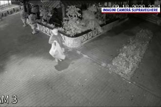 O femeie din Piatra Neamț fură, de câteva săptămâni, florile din fața unei terase