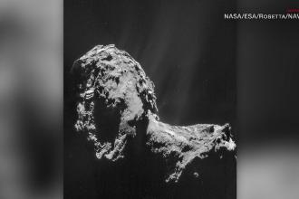 NASA a descoperit o cometă care emite lumini ultraviolete asemănătoare celor ale Aurorii Boreale
