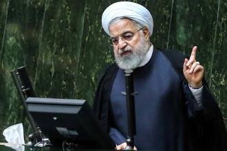 """Președintele Iranului, la reuniunea ONU: SUA nu pot impune """"nici negocieri şi nici război"""""""