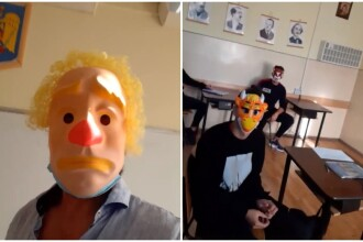 Cum a fost sancționat profesorul care şi-a îndemnat elevii să nu poarte mască