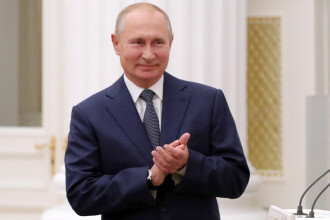 Discursul lui Putin, întrerupt de un acces de tuse. Ce spune Kremlinul despre starea lui de sănătate