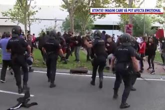 Spitalele din Madrid, în pragul colapsului. Cetățenii protestează față de noile restricții