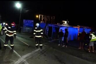 Accident de circulație cu doi morți, la Năsăud. Victimele au fost aruncate pe asfalt