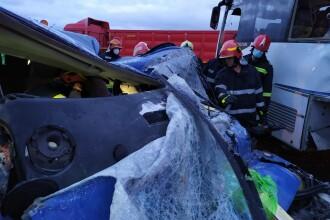 Cum s-a produs tragedia de la Leţcani, unde un TIR a lovit un autobuz și un microbuz. Una dintre cele 13 victime este medic
